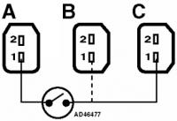 Elektryczna pompa ABS Golf 2