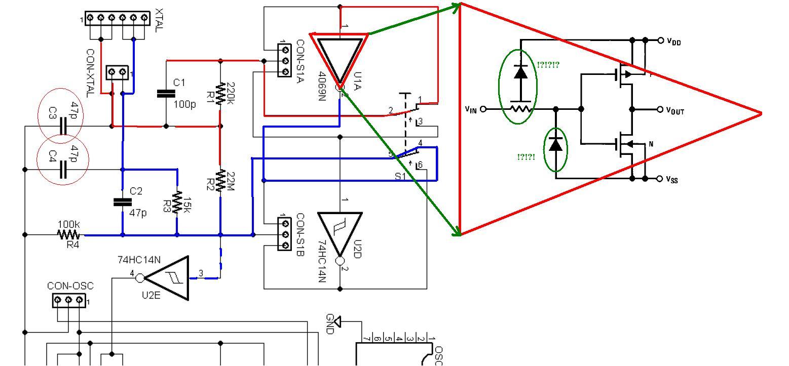 Tester rezonator�w - generator wzorcowy
