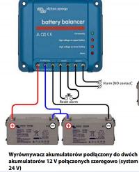 Wyrównywacz napięcia - akumulatorów 2x12V