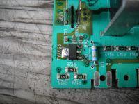 Electrolux płyta PCB (EWM 2000 EVO) - Identyfikacja triaka z pralki Electrolux