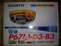 [Sprzedam] Płyta główna Gigabyte P67A-D3-B3 atx sata 3.0 usb 3.0 s.1155 / nowa