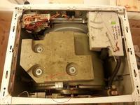 Whirlpool AWM 6081 - Urwane amortyzatory bebna