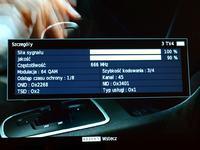 Odbiór DVB-T - Toruń-Trzeciewiec - mieszkanie w bloku