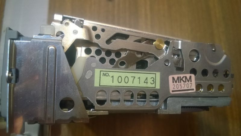 Sony VX1E - Zablokowana kaseta