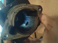 Stihl FS44 - jak zdemontować sprzęgło.