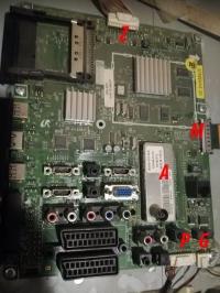 Samsung le32b651 'stukanie' podczas uruchamiania.