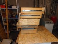 Szafki warsztatowe z szufladami