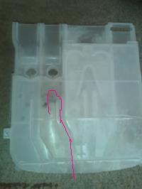 Pralka whirpool AWE 2316 - Wylewanie płynu do płukania