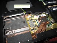 Demonta� klawiatury w notebooku Asus A6RP