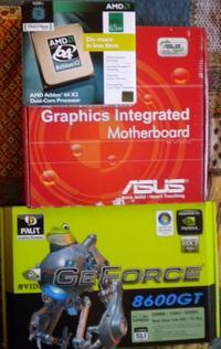 [Sprzedam] Zestaw: PC+Monitor+Mysz+Klawiatura