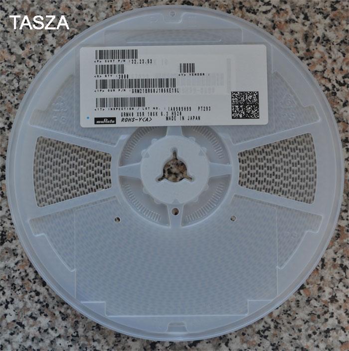 [Sprzedam] kondensatory 10 uF 6,3 V Murata VS GRM21BR60J106KE19L rolka 3 tys