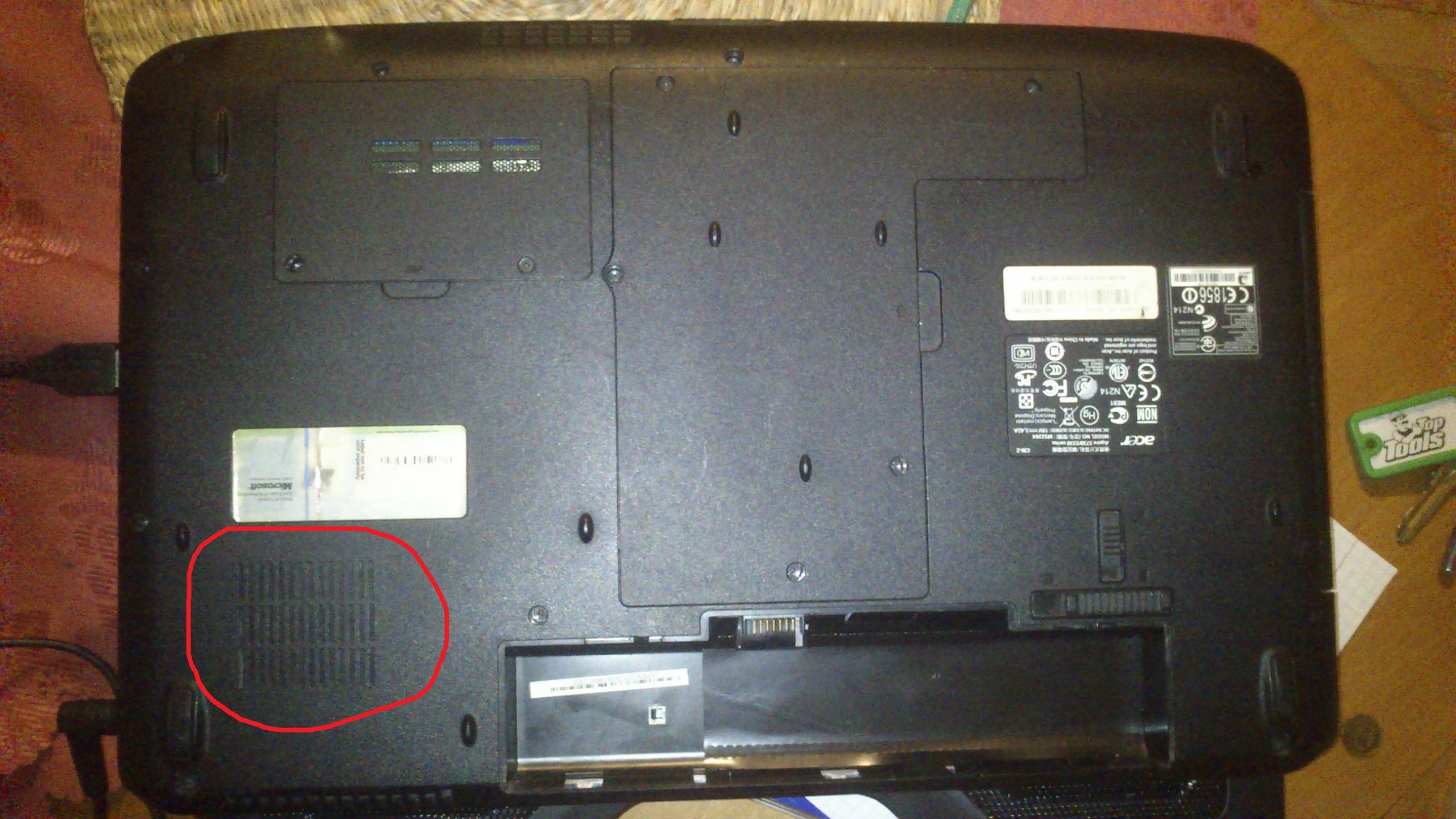 ACER ASPIRE 5733 - Trudna sytuacja z laptopem, prosze pomozcie! / zaawansowani