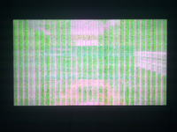 Samsung LED UE40ES5500 - zielony ekran przy 1080p i restart tv