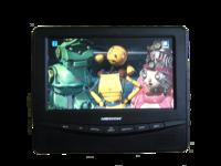 Mobilna telewizja czyli przenośny bezprzewodowy monitorek LCD Ver.2015