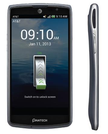 AT&T Pantech Discover - przystępny smartfon z LCD 720p i nagrywaniem Full HD