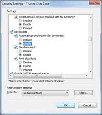 Brak możliwości otwierania załaczników pdf z poczty wp.pl IE9 64 bit