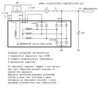 Jak podłączyć alternator od Fiat 126p do akumulatora?