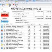 WDC WD10EALX-009BA0 1000,2GB - Komunikat System Windows wykrył problem z dyskiem
