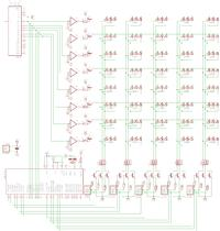 [Atmega16][C] - matryca RGB 8x5 diod