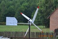 Mała (mobilna) elektrownia wiatrowa