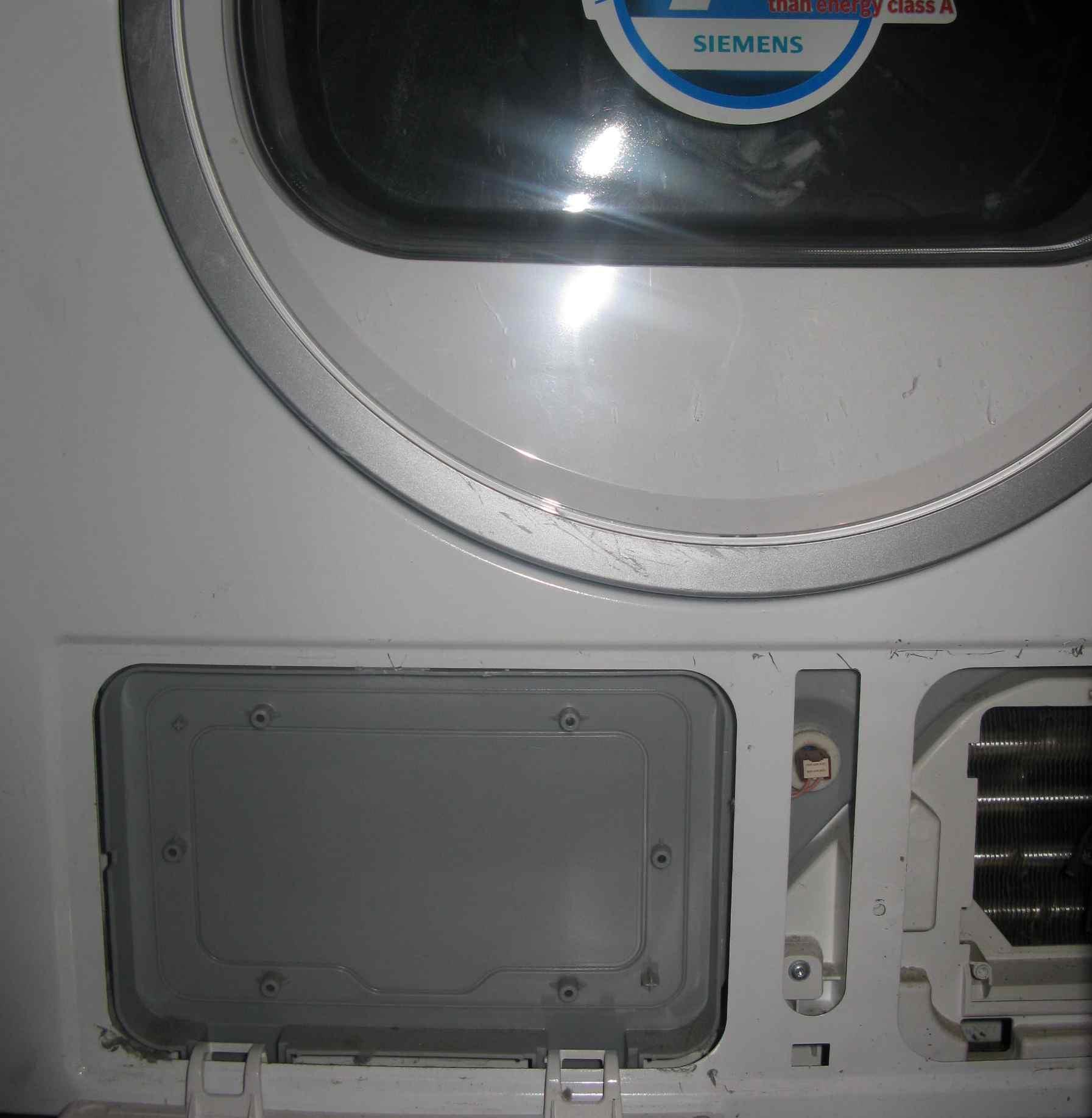 Siemens WT46W560BY/02 - Suszarka z pomp� ciep�a - s�aby efekt suszenia