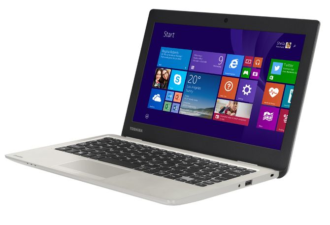 "Toshiba Satellite CL10-B - subnotebook z 11,6"" ekranem, Celeron i Windows 8"