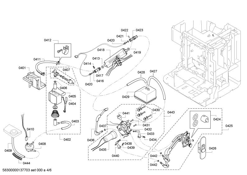 szukam instrukcji rozebrania ekspresu cisnieniowego siemens eq 7