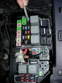 Ford S-Max - Lampa świateł dziennych .