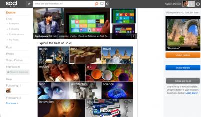Microsoft og�osi� So.cl, konkurencj� dla Facebooka i Google+