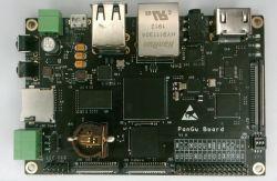 PanGu - jednopłytkowy komputer z STM32MP1 i Yocto