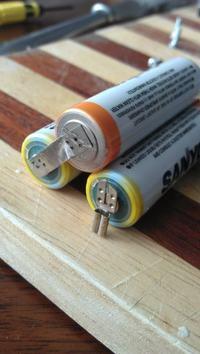 Łączenie akumulatorów eneloop R6