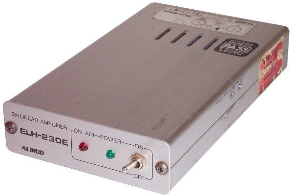 ALINCO ELH-230, ELH230 Instrukcja EN