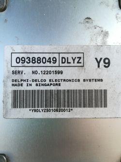 Sterownik silnika DAEWOO REZZO 2.0 16v 2001r