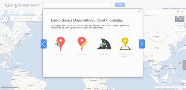 Google Map Maker b�dzie obszerniejszy i prostszy w obs�udze