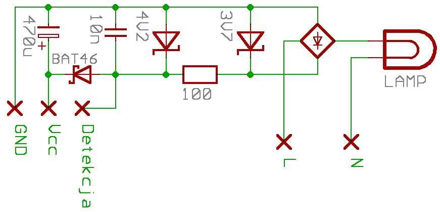 Układ zasilania 3V3 z sieci bez transformatora - opinia