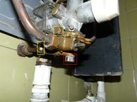 Nie odpala piecyk gazowy GGWP-17,4-B1-II w łazience