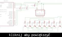 [ATMEGA 8][BASCOM] Tablica informacyjna LED