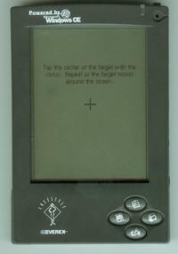 Palmtop, Windows CE, komunikat, Jak go uruchomić?