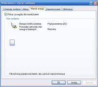 Acer Aspire 5737z i XP - brak wskaźnika naładowania baterii