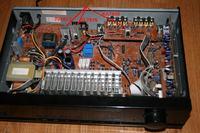 Sherwood ES-5030R brak sygnału wyjściowego