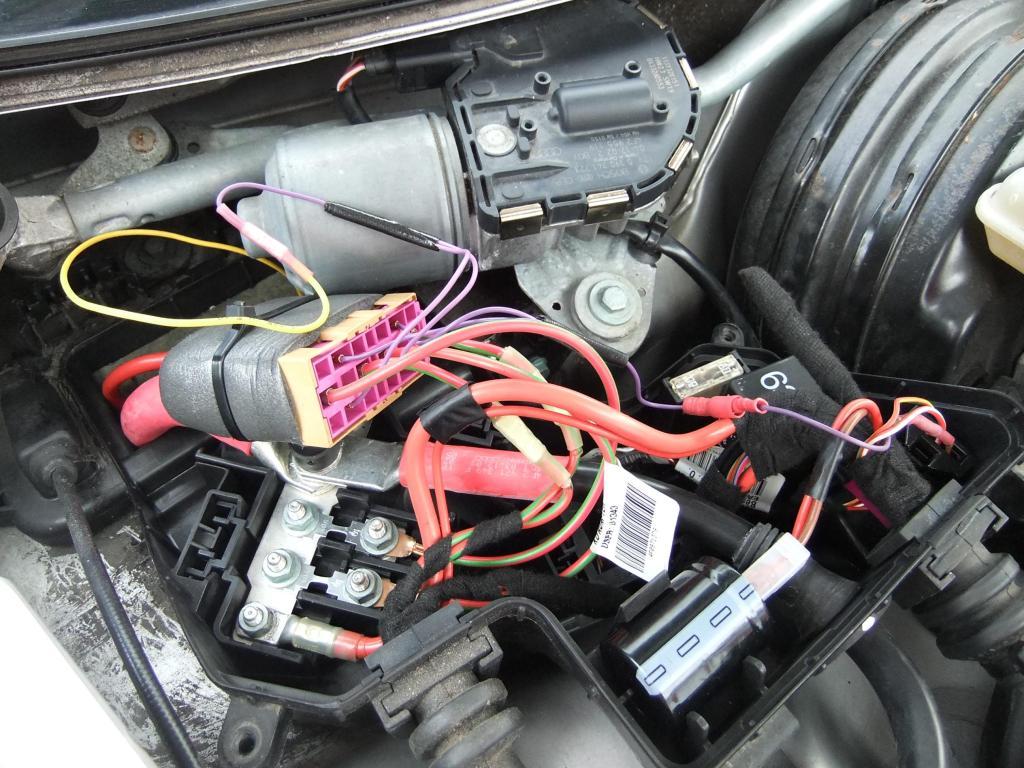 Audi A6 C6 Przekaźniki Wentylatorów Brak Napięcia