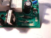 Electrolux EWS 126510 W - Warto�� rezystora R94 i rezystora SMD