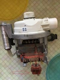 Zmywarka Bosch SGV 5603/21 - Spalony silnik czy plastikowe coś?