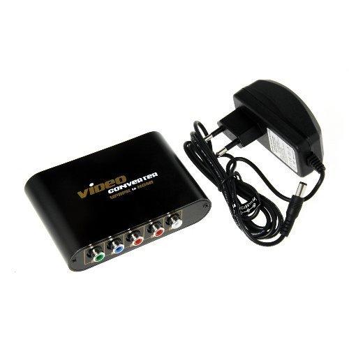 Jak podlaczyc tuner Sagecom DT83HD z wyjsciem HDMI do projektora z wejsciem YPbP