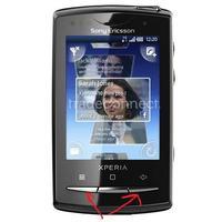 Sony Ericsson Xperia X10 mini Pro Blokada Ekranu