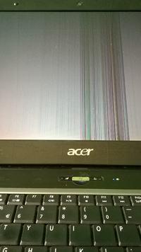 Acer 5732Z - Nieprawid�owo wy�wietlany obraz na matrycy