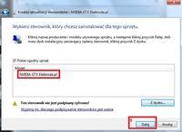 Manualna instalacja sterowników w systemie Windows