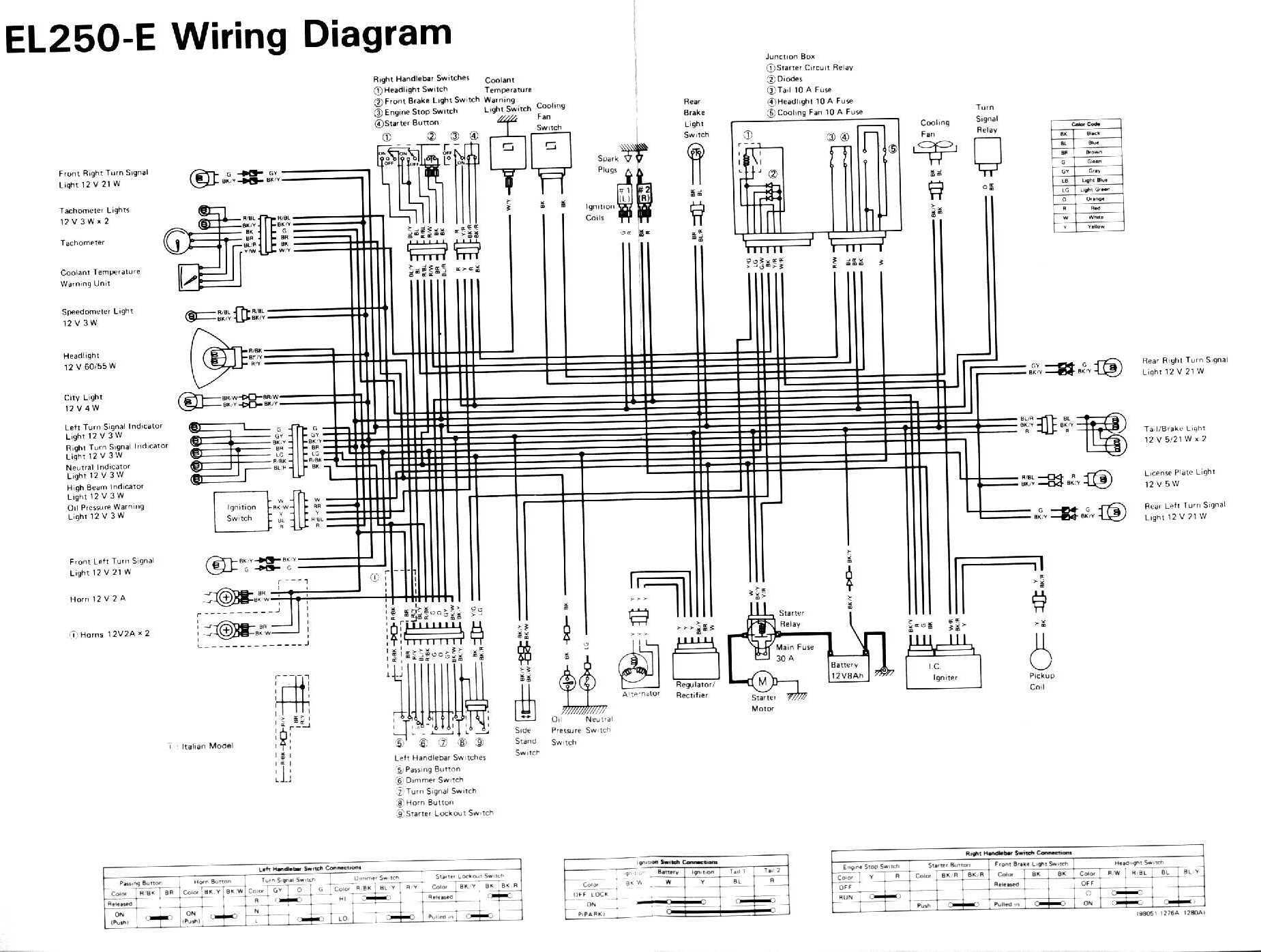 06 Yamaha Rhino 660 Wiring Diagram Parts Illustration Manual