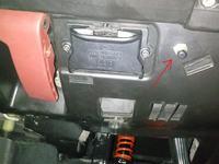 Mercedes W209 - Mercedes W209 Dziwny przycisk