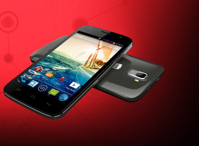 Micromax Canvas Entice A105 - low-endowy smartfon z Androidem 4.4.2
